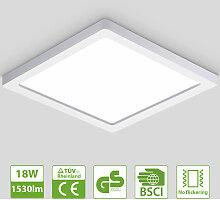 Oeegoo LED Deckenleuchte 13mm, 18W Flimmerfreie