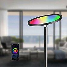 Oeegoo Smart Stehlampe, RGB LED Deckenfluter 25W,