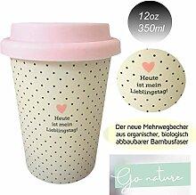 Öko Coffee to Go Kaffe Tee Becher eCoffee Cup
