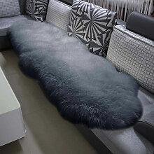 Öko Lammfell Schaffell Teppich Bettvorleger Sofa