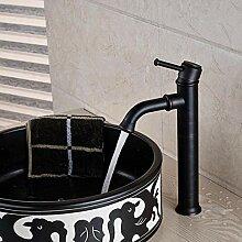 Öl eingerieben Bronze Einhand-Waschbecken