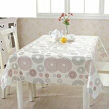 Öl einweg tisch tuch/kunststoff tischdecken/tee tischdecke/dining schreibtischunterlagen-A 135x200cm(53x79inch)