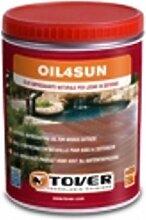 Öl Imprägnierung oil4sun Natur Wartung des Holz in Outdoor Schutz 2,5Liter