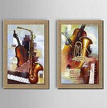 """Öl Malerei Dekoration Still Life Hand Bemalt Leinen Mit Gespannten Gerahmt, 20"""" X 24"""" (50 Cm X 60 Cm)"""