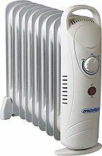 Öl Radiator 9 Rippen | 1.000 Wat | Elektroheizung | Radiator Heizung | Heizkörper | Heizlüfter | Ölradiator | Heizgerät | Schnellheizer | geeignet für Haushalt Terrasse Garten Camping | (9 Rippen, 1.000 Watt)