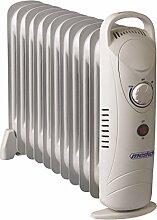 Öl Radiator | Radiator | Elektroheizung | Heizkörper | Heater | Öl-Radiator | Ölradiator | 11 Rippen Radiator | Heizgerät | Paneelheizkörper | 1200 Watt | Thermostat | Überhitzungsschutz |