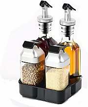 Öl Spender Flaschen Set Küche Organizer Kochen