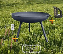 ÖLBAUM Feuerkorb XXL Feuerschale ca. 100 cm für