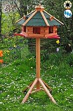 ÖLBAUM Garten-Vogelfutterhaus, Anflugbrett mit