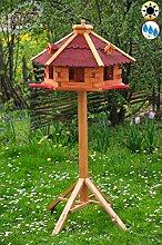 ÖLBAUM Garten-Vogelfutterhaus XXXL mit