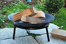 Oelbaum Massive Stahl-Grill Feuerschale mit