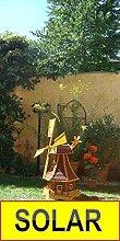 ÖLBAUM Windmühle, WETTERFEST, mit Bitumendach,