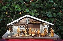 ÖLBAUM XXL Weihnachtskrippe, mit Granitbrunnen