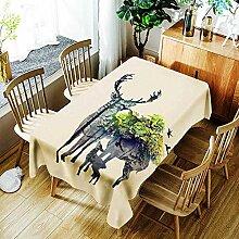Ölbeständige Tischdecke Wasserdichte Tischdecke