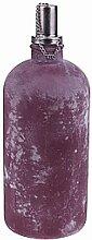 Öllampe  FROSTED groß lila brombeerfarben H. 30cm D. 11cm Glas Hendriks Deco (8,95 EUR / Stück)