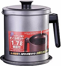 Ölsieb Topf Fettkanne Küche Speiseöl Can Pot