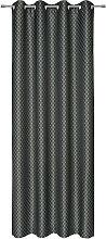 ÖSENSCHAL blickdicht 140/250 cm