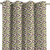 Ösenschal, grün- violett, 1 Stck. 130 × 260 cm,