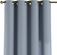 Ösenschal, silber- blau, 1 Stck. 130 × 260 cm,