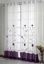 oesenvorhang Transparent Gardinen Vorhang