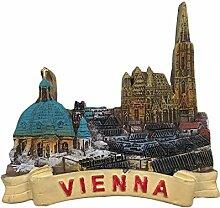 Österreich Wien 3D Kühlschrankmagnet
