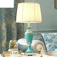 Östliches Mittelmeer Schreibtischlampe/Blue,Simple,Mode,Kreative Lampe/Amerikanischen,Living Room,Schlafzimmer,Dekorative Nachttischlampe-A