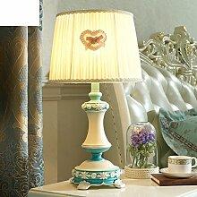 Östliches Mittelmeer Schreibtischlampe/Schlafzimmer,Bett,Moderne Einfache Tischleuchte/Kreative,Mode,Wärme,Dekorative Tischleuchten-A