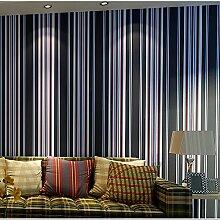 Östliches Mittelmeer Stil Vliestapete Streifen vertikale Streifen Tapete Wohnzimmer Schlafzimmer große Hintergrundbilder