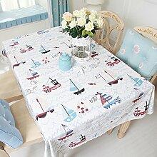Östliches Mittelmeer Tischdecke/Tischdecke decke/Tischdecken/ Tischtuch-A 220x140cm(87x55inch)