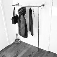 ÖVELGÖNNE V2 schwarz - Kleiderstange / Garderobe