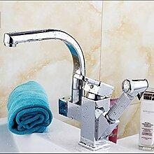 OEWFM Wasserhahn Poliert küche waschbecken