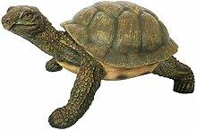 OF Gartenfigur Schildkröte für außen geeigent -