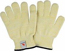 Ofen hitzebeständig Ofen Handschuhe (Gelb)