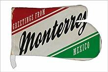 Ofen Topf Handschuh Reisen Küche Monterrey Mexiko bedruck