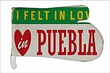 Ofen Topf Handschuh Reisen Küche Puebla Mexiko bedruck