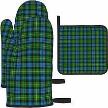Ofenhandschuhe und Topflappen-Set, Macleod Of Skye