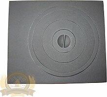 Ofenplatte aus Gusseisen bg_026 Grill Gussplatte Cast Iron Kaminplatte