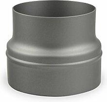 Ofenrohr Erweiterung 150 mm > 180 mm Gussgrau -