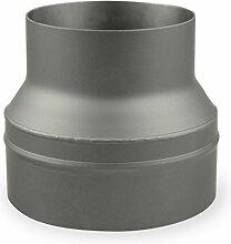 Ofenrohr Erweiterung 150 mm > 200 mm Gussgrau -