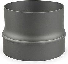 Ofenrohr Erweiterung 180 mm > 200 mm Gussgrau -