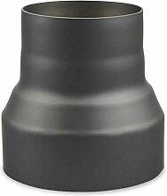 Ofenrohr Reduzierung 200 mm > 150 mm Gussgrau