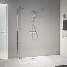 offene Dusche ebenerdig, Walk-in, 80x100 x200 cm