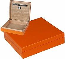 Office Humidor Orange Polymerbefeuchter inkl.