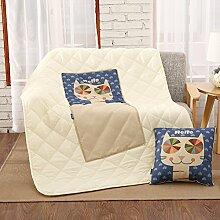 Office Kissen quilt Dual-Kissen/ cool im Sommer Quilts/ Sofa Fahrzeugklimatisierung und NICKERCHEN auf einem Kissen/ Kissen-A 41x41cm(16x16inch)