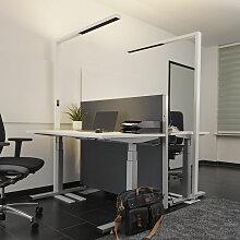 Office-LED-Stehleuchte Jolinda, CCT, mit Sensor
