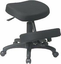 Office Star ergonomisch entworfen Knie Stuhl mit Rollen und Memory Foam 5-Sterne-Basis Low-Back 5 Star Base