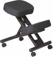 Office Star ergonomisch entworfen Knie Stuhl mit Rollen und Memory Foam Espresso, Holzboden Espresso Espresso Wood Base