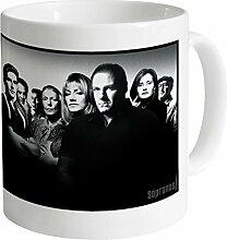 Official The Sopranos Cast Becher, Weiß