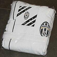 Offizieller FC Juventus Bademantel mit Kapuze in