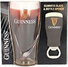 Offizieller Guinness-Glas- und Flaschenöffner,